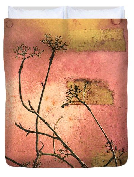 The Weeds Duvet Cover by Tara Turner