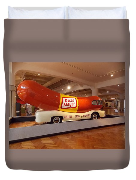The Weinermobile 1 Duvet Cover