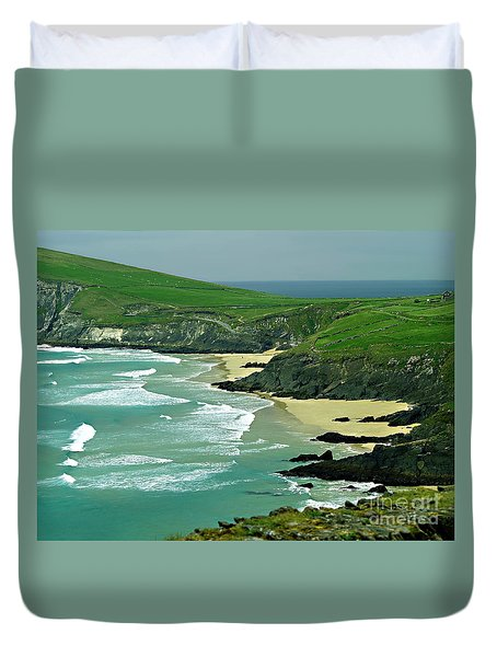 The West Coast Of Ireland Duvet Cover by Patricia Griffin Brett