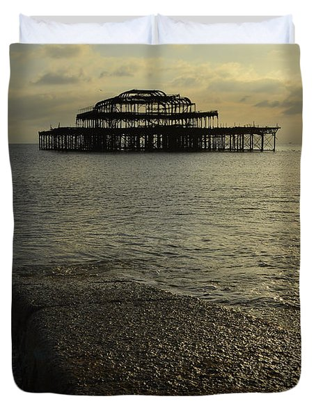 The West Pier Duvet Cover