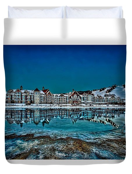 The Westin On Ice Duvet Cover