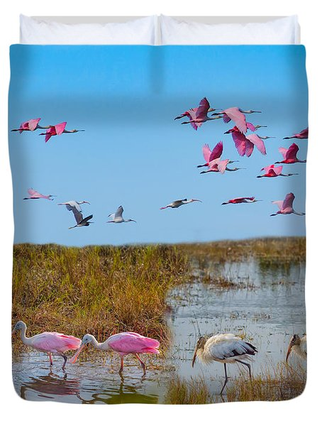 The Wetlands Duvet Cover