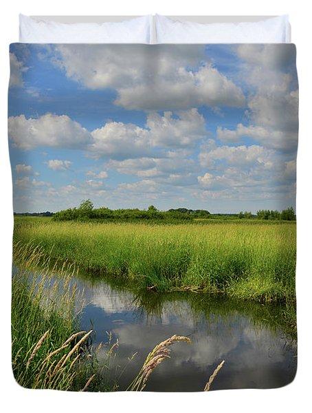 The Wetlands Of Hackmatack National Wildlife Refuge Duvet Cover