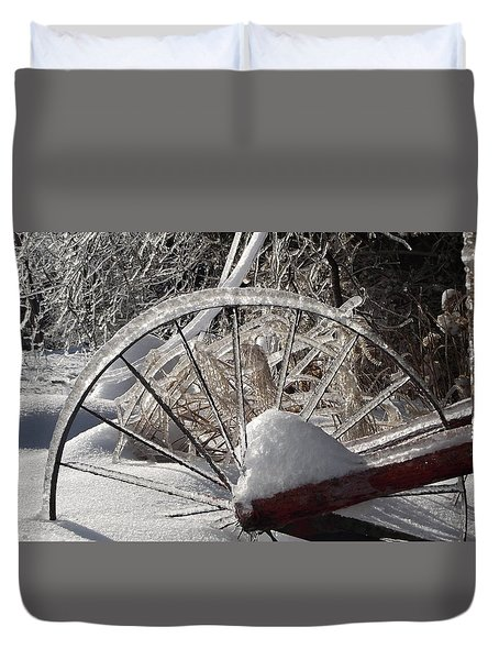 The Wheel Duvet Cover