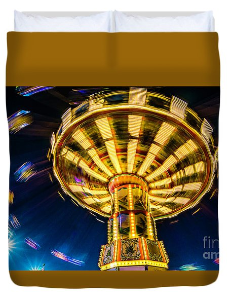 The Wheel Duvet Cover by David Smith