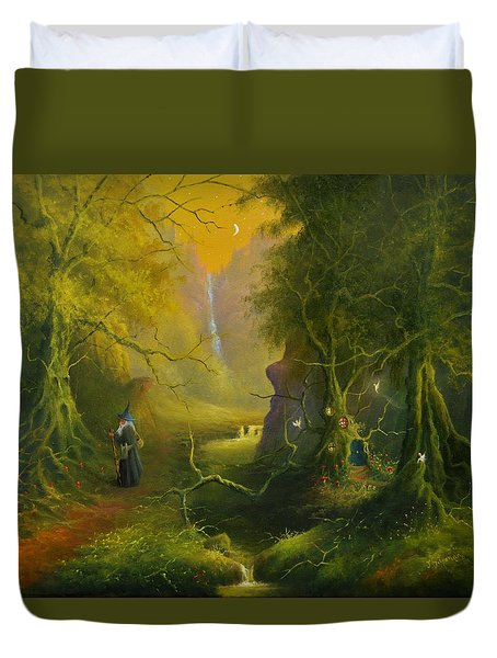 The Whispering Wood Duvet Cover