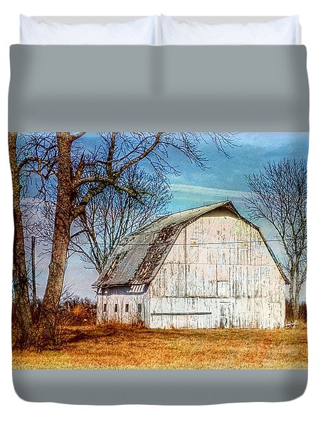 The White Barn Duvet Cover