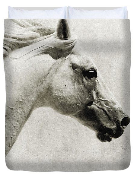 The White Horse IIi - Art Print Duvet Cover
