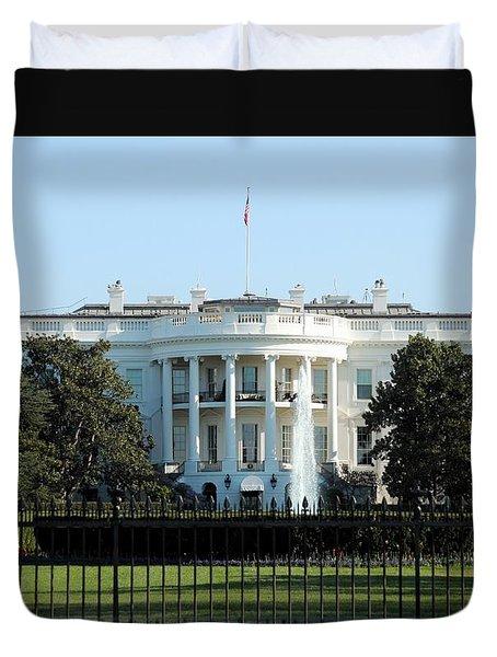 The White House Duvet Cover