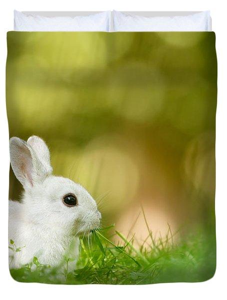 The White Rabbit Duvet Cover