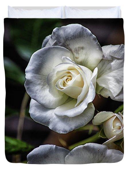 The White Rose Duvet Cover