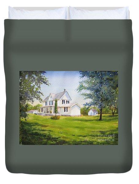 The Whitehouse Duvet Cover