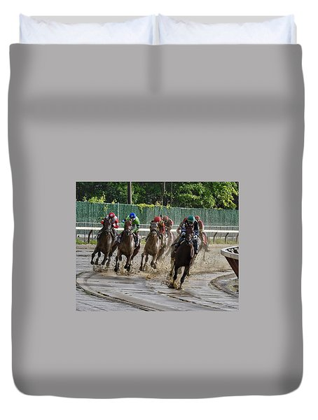 Diversify Winning The Whitney 2018 Duvet Cover