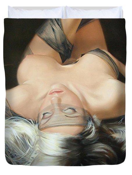 The Widow Duvet Cover by Sergey Ignatenko