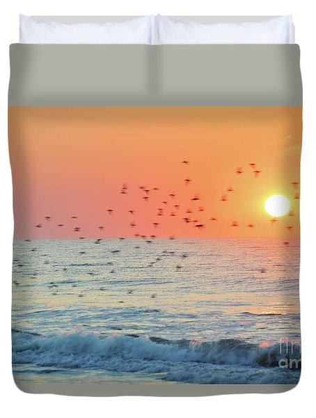 The Wind Calls My Name Duvet Cover