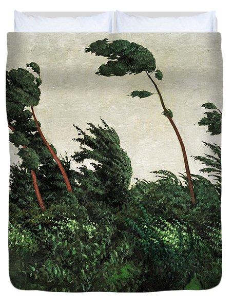 The Wind Duvet Cover