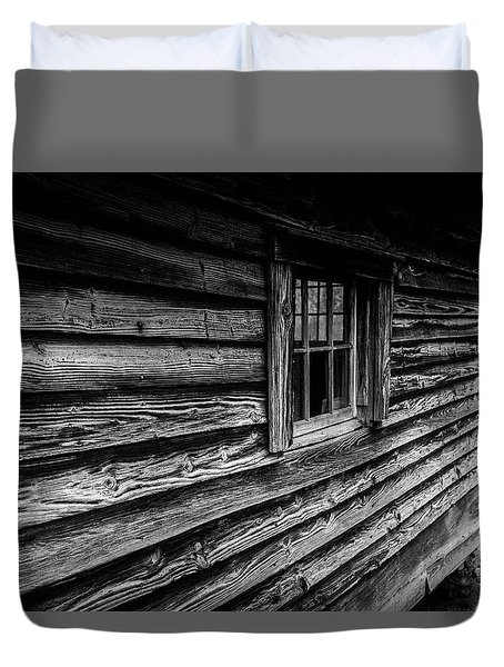 Duvet Cover featuring the photograph The Window by Doug Camara