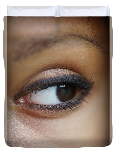 The Window To The Soul Duvet Cover