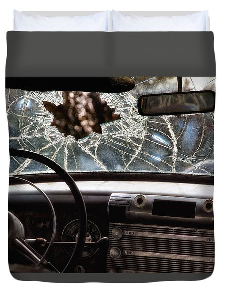 The Windshield  Duvet Cover