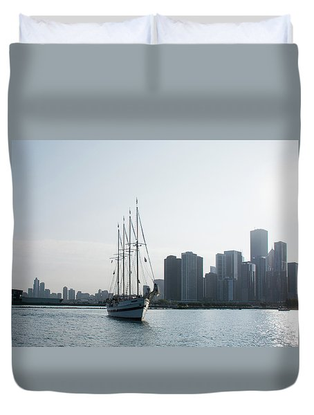 The Windy City Duvet Cover