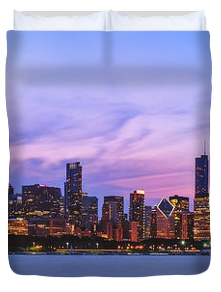The Windy City Duvet Cover by Scott Norris