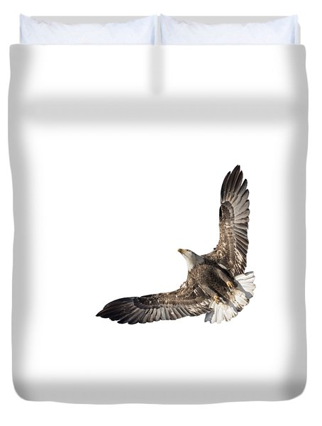 The Wings Of An Eagle 2018 Isolated Duvet Cover