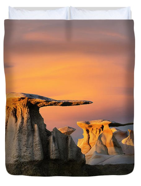The Wings Of The Bisti Duvet Cover