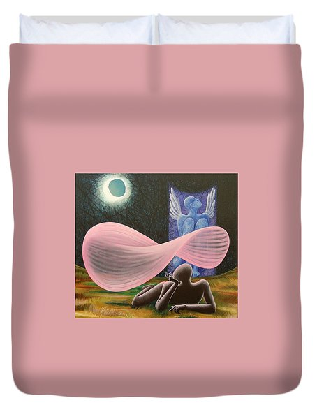 The Wings Duvet Cover by Raju Bose