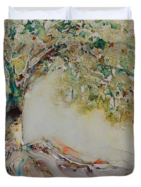 The Wisdom Tree Duvet Cover