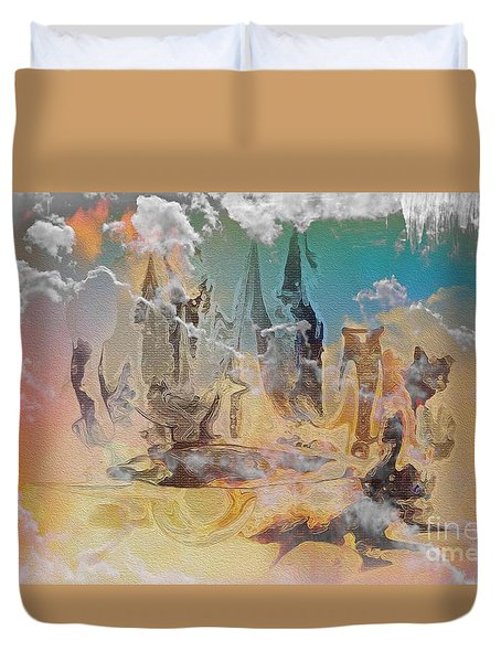 The Wizard By Sherriofpalmsprings Duvet Cover