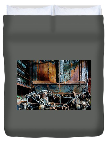The Wizard's Music Box Duvet Cover