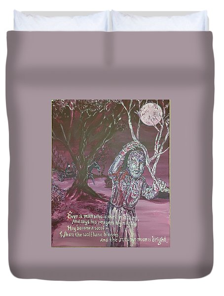 The Wolf Man, 1941 Duvet Cover