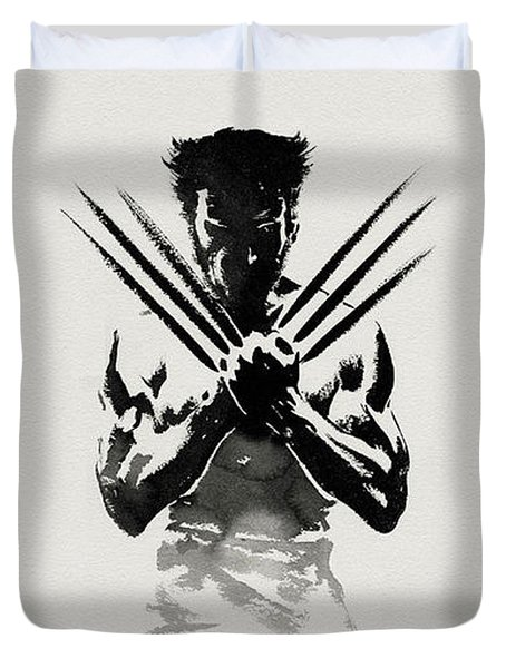 The Wolverine Duvet Cover