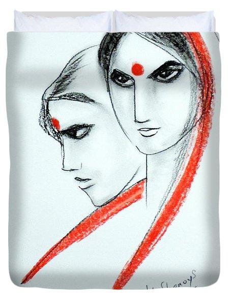 The Women Duvet Cover