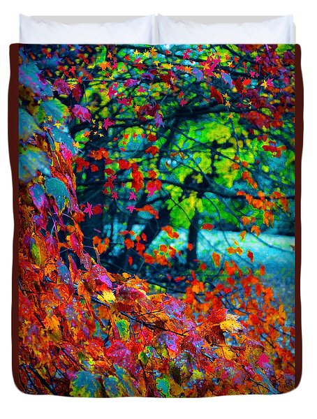 The Wonder Of Autumn Duvet Cover
