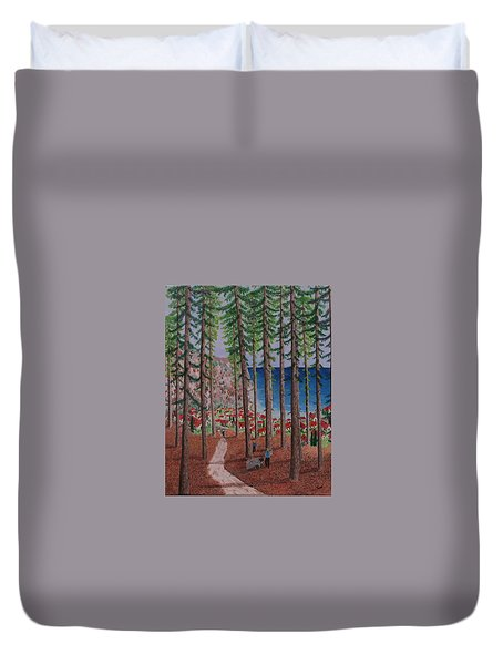 The Wood Collectors Duvet Cover