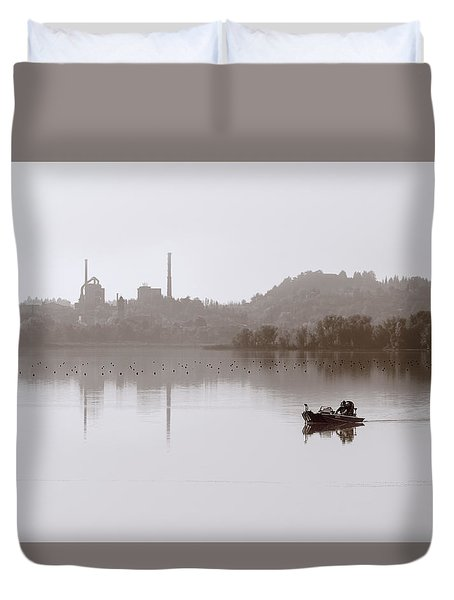 The World Is Quiet Here Duvet Cover