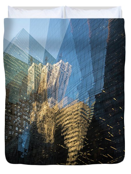 Duvet Cover featuring the photograph The World Keeps Turning by Alex Lapidus