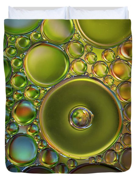 The World Of Bubbles Duvet Cover