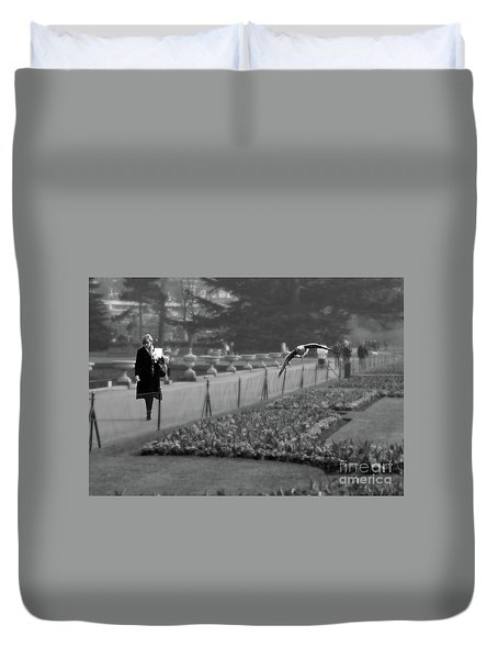 The Writers Story Duvet Cover