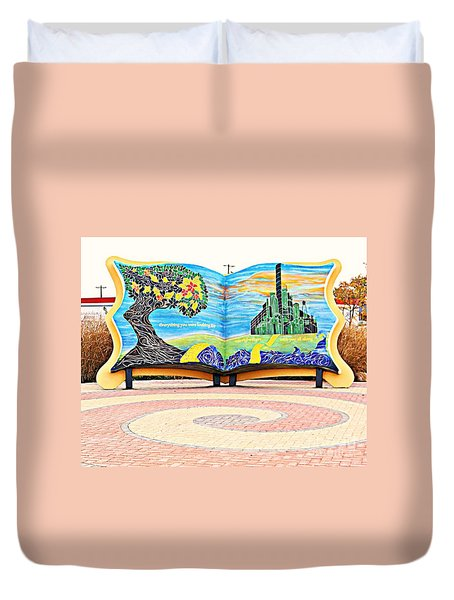 The Yellow Brick Road Duvet Cover