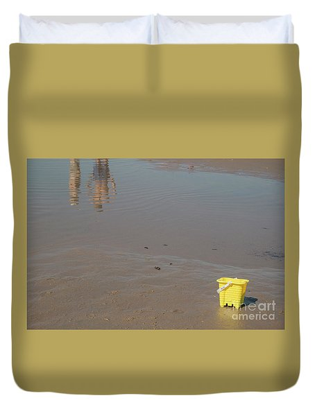 The Yellow Bucket Duvet Cover