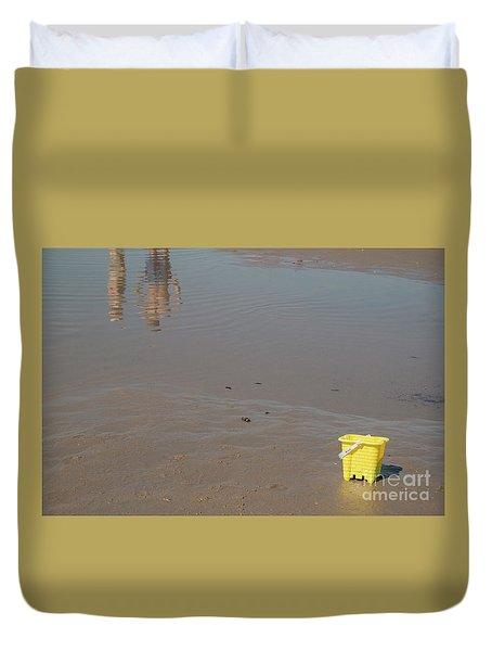 The Yellow Bucket Duvet Cover