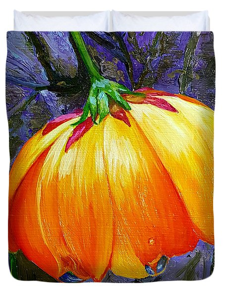 The Yellow Flower Duvet Cover