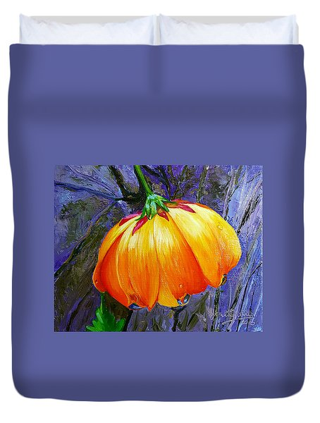The Yellow Flower Duvet Cover