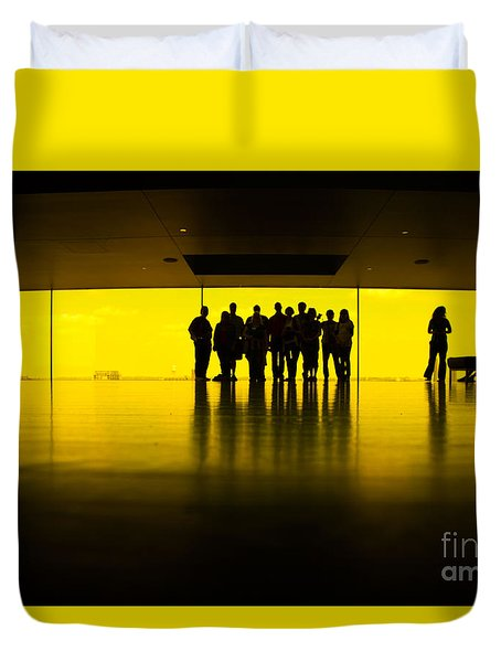 The Yellow Room Guthrie Theater Minneapolis  Duvet Cover