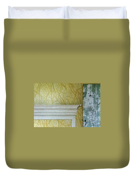 The Yellow Room No. 3 - Detail Duvet Cover