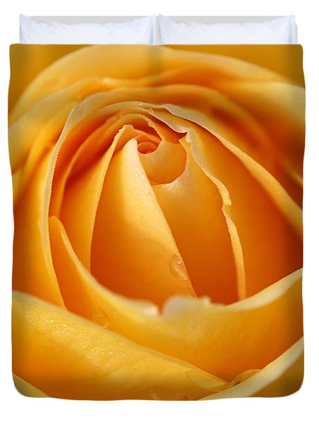 The Yellow Rose Duvet Cover