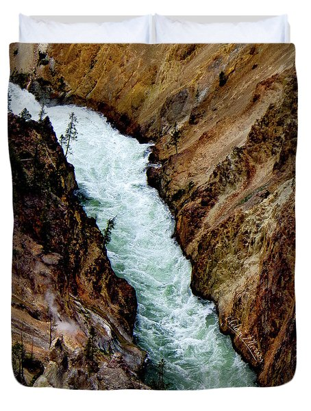The Yellowstone Duvet Cover