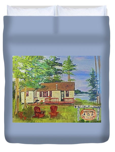 The Young's Camp Duvet Cover